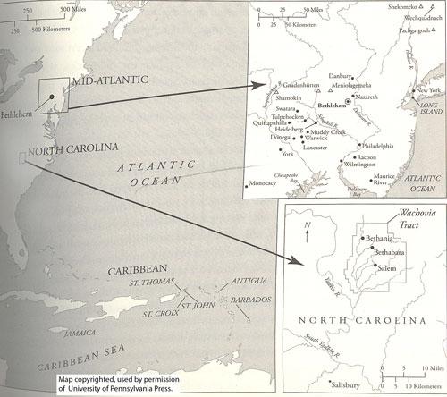 U.S. mission map