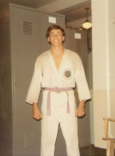 Alex Marini, karate instructor